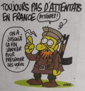 """Siamo tutti discendenti diretti di Aristofane  Charlie Hebdo irriverente e anticonformista, portavoce dello storico motto, senza colore e senza religione, """"Liberté, Égalité, Fraternité"""""""