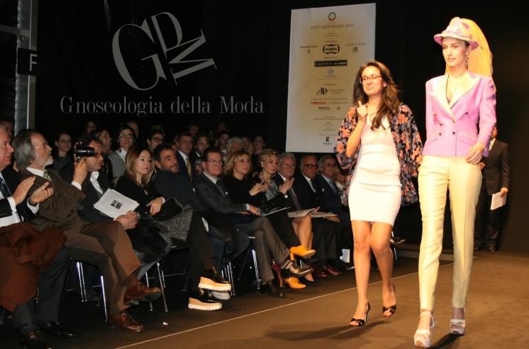 """La vincitrice del prestigioso premio """"Manichino d'Oro"""""""