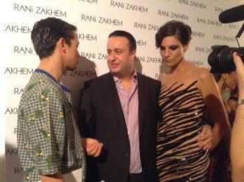 Rani Zakhem - Post sfilata, backstage